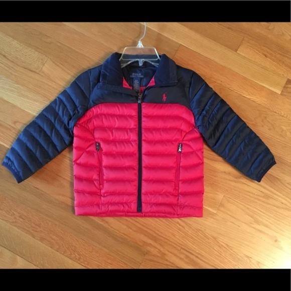 d96d74336 POLO Ralph Lauren Toddler Boys Jacket 3 3T bNWT